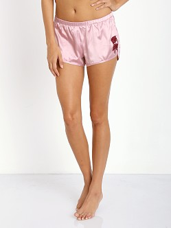 SKIVVIES by For Love & Lemons Le Fleur Night Short Dusty Rose
