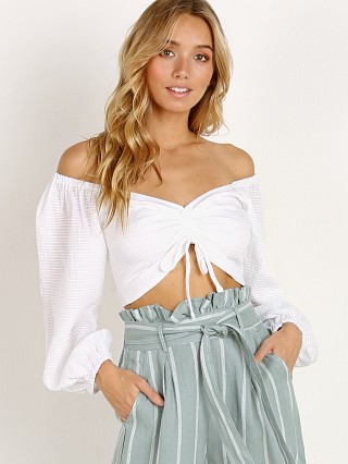Suboo Together Again Cropped Top White
