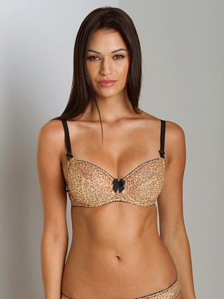Claudette Dessous Full Coverage Bra Leopard