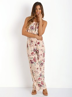 Faithfull the Brand Graceful Jumpsuit Sundance Beige