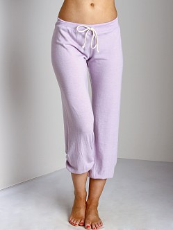 Nation LTD Medora Capri Sweats Lavender Frost
