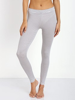 Eberjey Sadie Stripes Legging Strom Cloud