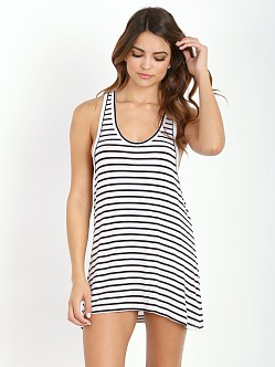 Mikoh Yokohama Cover Up Marine Stripe Night