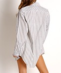 Solid & Striped The Oxford Tunic Black Stripe, view 4