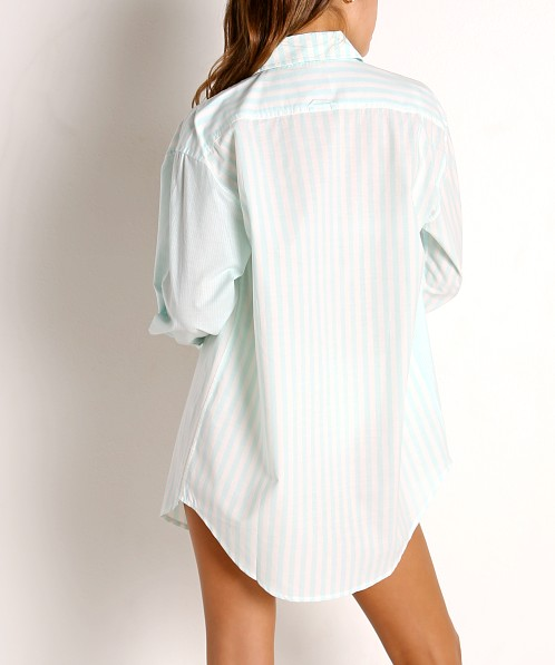 Solid & Striped The Oxford Tunic Coral Mint Lapis