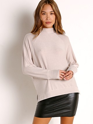 Model in bone Richer Poorer Cozy Knit Long Sleeve