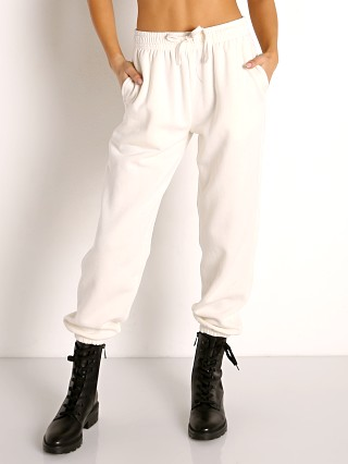 Model in bone Richer Poorer Recycled Fleece Sweatpants