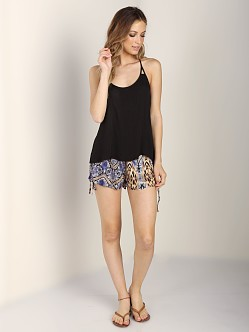 MinkPink Midnight Sun Cami Black