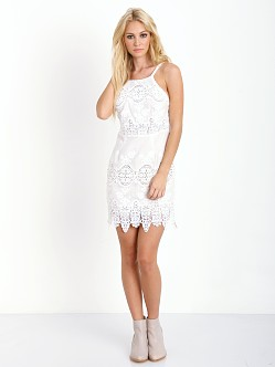 Stone Cold Fox Georgia Dress White