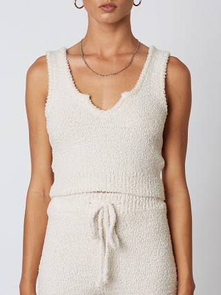 You may also like: NIA Notched Sweater Tank Natural