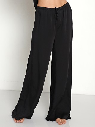 Bella Dahl Wide Leg PJ Pant Black