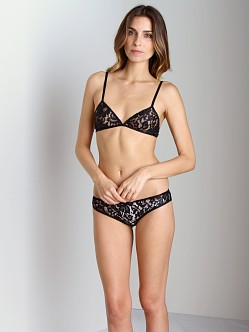 Zinke Laurel Bralette Black