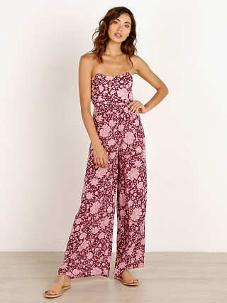 Complete the look: Novella Royale The Ford Jumpsuit Wine Flamenco