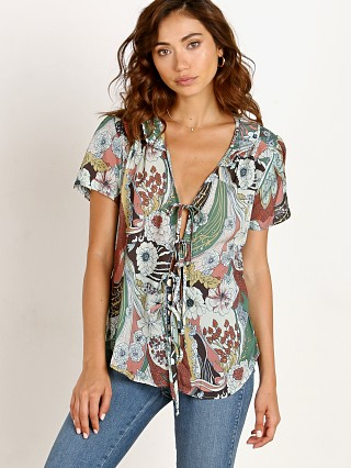 Complete the look: Novella Royale The Sophie Blouse Sage Floral