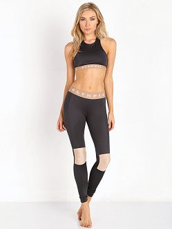 Olympia Activewear Moto Leggings Navy/Nude