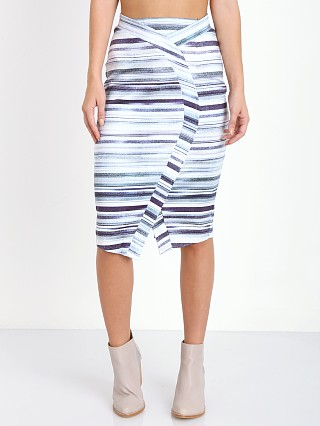 Model in static Maurie & Eve The Runner Skirt