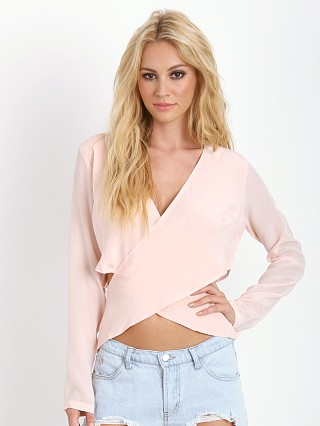 Maurie & Eve Kiss of Love Blouse Bleached Peach
