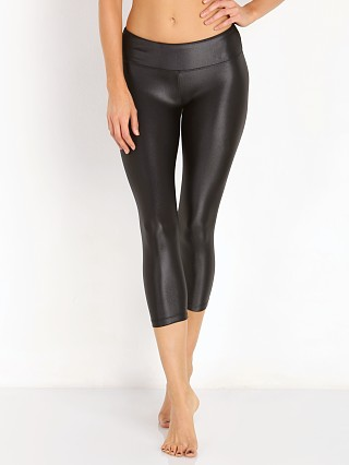 Koral Lustrous Capri Leggings Black