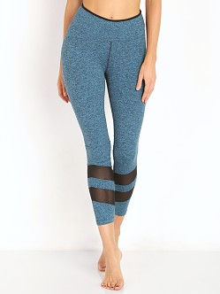 Koral Acme Cropped Leggings Cerulean/Black