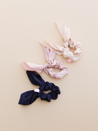 Largo Drive Silky Scrunchies 3 Pack