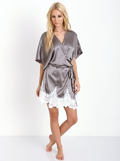 SKIVVIES by For Love & Lemons Knockout Robe Slate