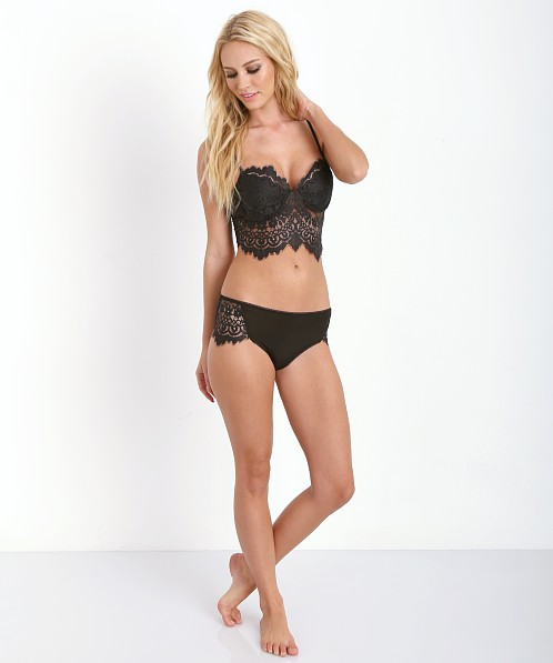SKIVVIES by For Love & Lemons Knockout Panty Black