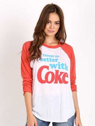 WILDFOX Go Better with Coke Raglan