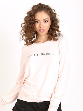 WILDFOX Here Til' Midnight Baggy Beach Jumper Chapstick