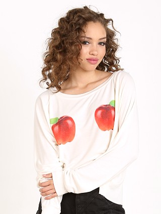 WILDFOX How Do You Like Them Apples Luca Crop Pearl