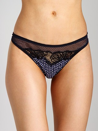 Complete the look: Stella McCartney Ellie Learning Thong Polka Dot Print