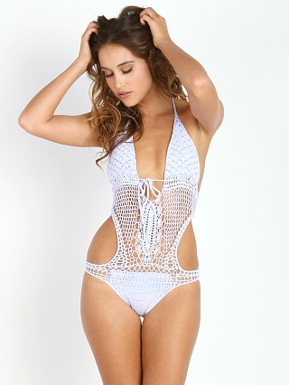 Lisa Maree Down the Garden Path Monokini Lilac