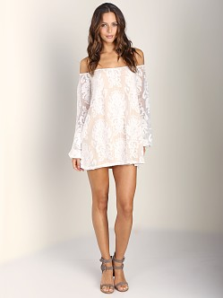 For Love & Lemons Precioso Dress Ivory