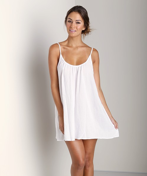 9Seed St. Barts Short Dress White