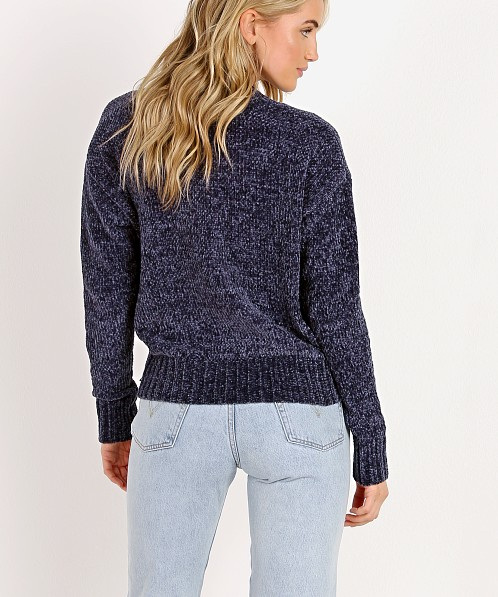 Heartloom Chloe Sweater Navy 186S19C