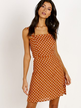 Faithfull the Brand Stepper Dress Cinnamon