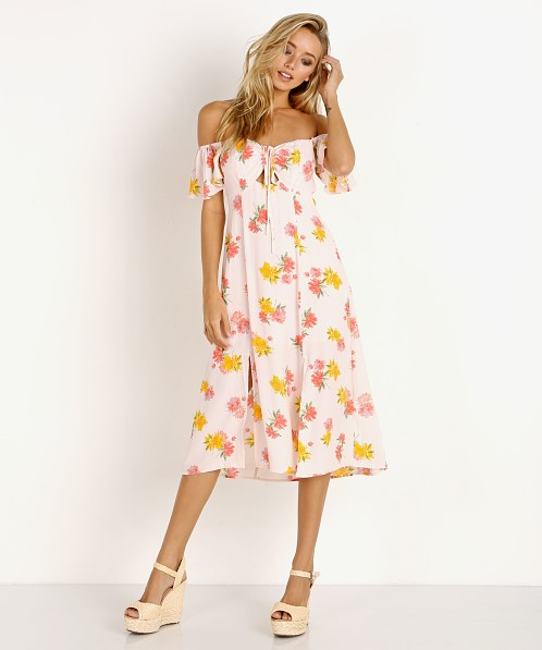 ASTR the Label Kayli Dress Blush Flora