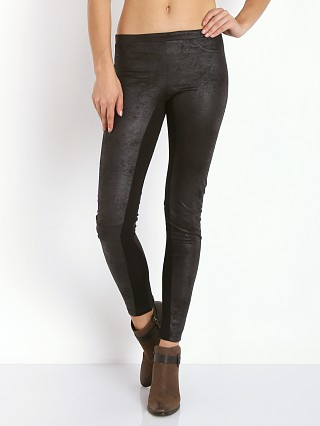 Nightcap Vegan Leather Skinny Pant Black