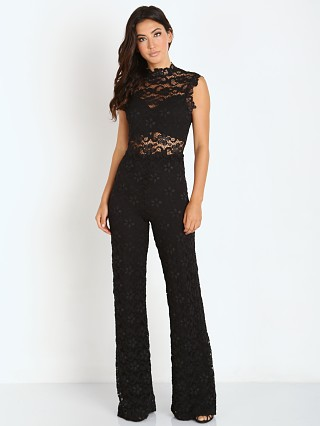 Nightcap Dixie Lace Catsuit Black