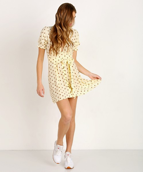 Faithfull the Brand Vanelli Mini Dress Sylve Dot Print