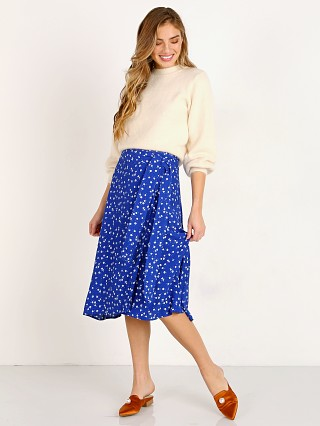 Faithfull the Brand Valencia Wrap Skirt Betina Floral Print