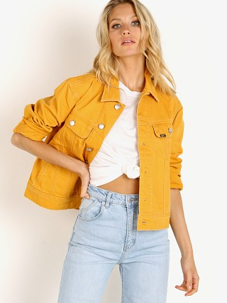 Complete the look: Lee Vintage Modern Rider Jacket Lee Gold