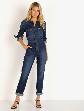 Lee Vintage Modern Union-All Romper Pacific Blue