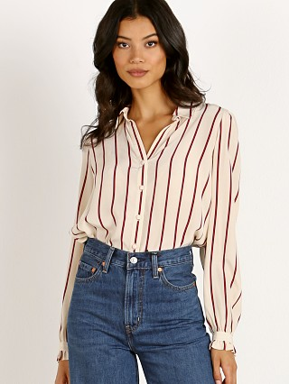 Levi's Marcey Top Split Rock Stripe Sandshell