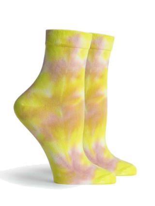 Richer Poorer Psych Socks Green