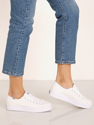 Keds Triple Kick Canvas Sneaker White