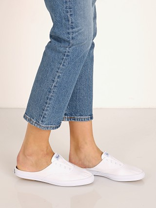 Keds Moxie Mule Seasonal Solids White
