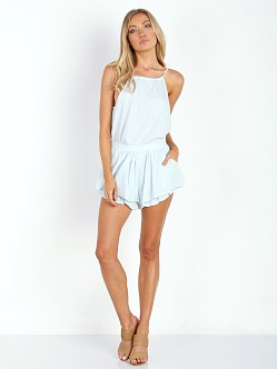 MinkPink Summer Time Shadows Short Chambray