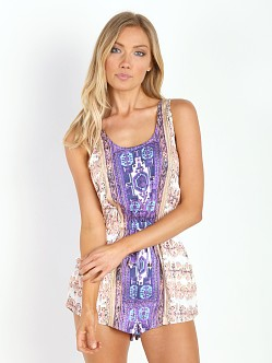 MinkPink The Fallen Playsuit Multi