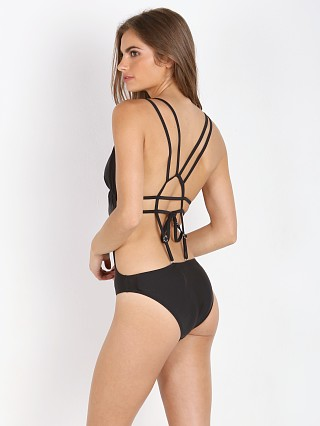 MinkPink Cross My Heart One Piece Black