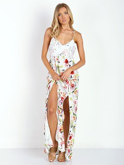 MinkPink Flowers and Lace Maxi Dress Multi